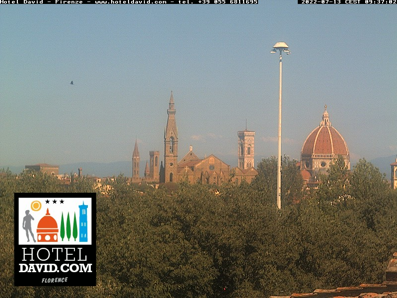 Webcam Firenze Hotel David